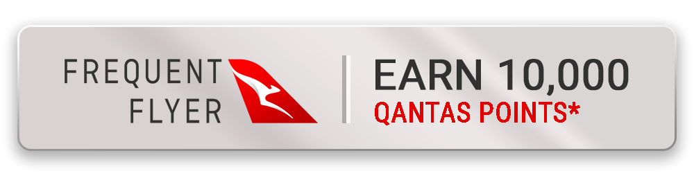Earn 10000 Qantas Points with this package