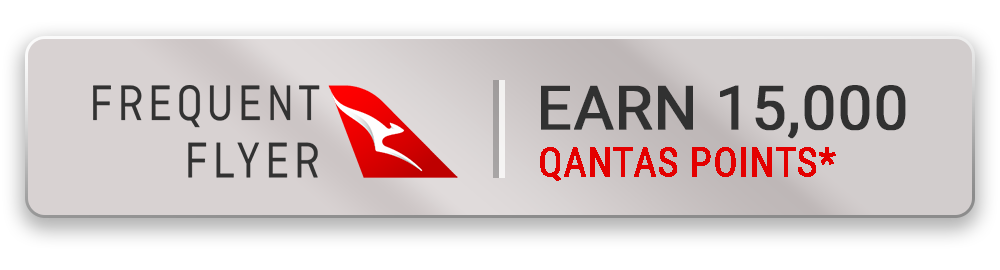 Earn 15000 Qantas Points with this package