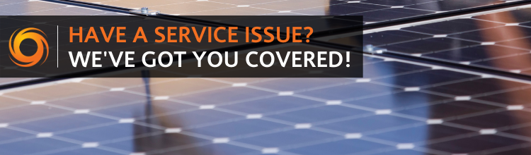 Have a service issue?  We've got you covered!