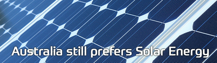 australia prefers solar enegry
