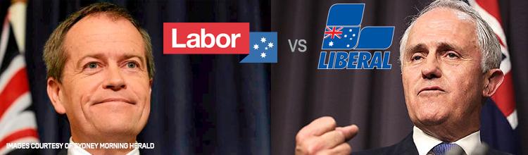 liberal vs labor