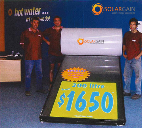 Solargain Beginnings in 2005