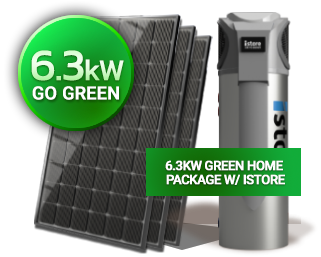 Go Green Solar Power Package