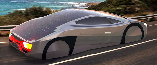 The Solar Powered Car That Never Stops Driving