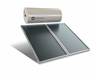 Solargain Solar Hot Water - Roof Mount Panels