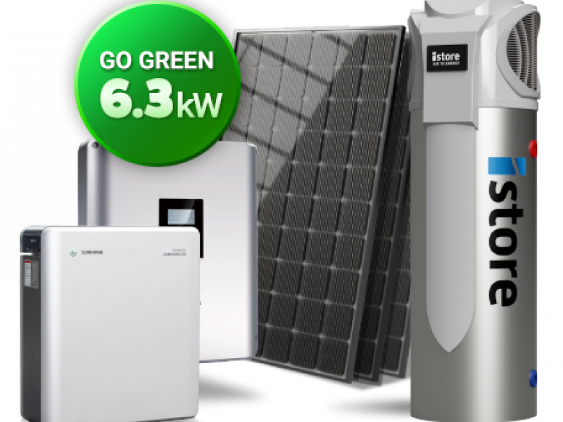 Go Green Solar Panels iStore battery package