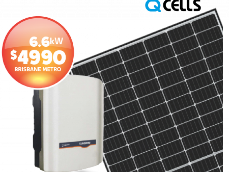 QCELLS SunGrow Solar Panels Package