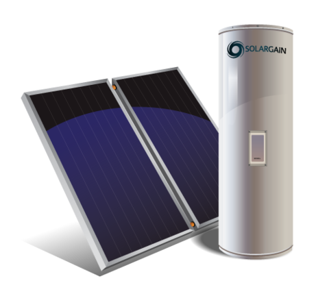 315L Solar Storage with Electric Booster