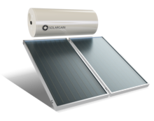 Solargain Solar Hot Water Roof Mount System
