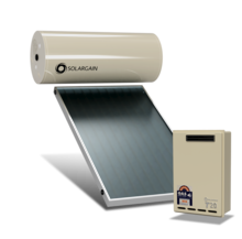 Solargain Roof Mount Gas Assisted 300L Single Panel